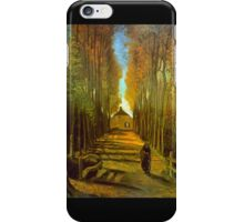 'Autumn' by Vincent Van Gogh (Reproduction) iPhone Case/Skin