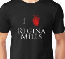I Heart Regina Mills - White Print Unisex T-Shirt