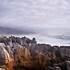 Pancake Rocks by Robert Scammell