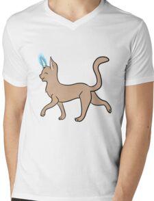 Caticorn Mens V-Neck T-Shirt