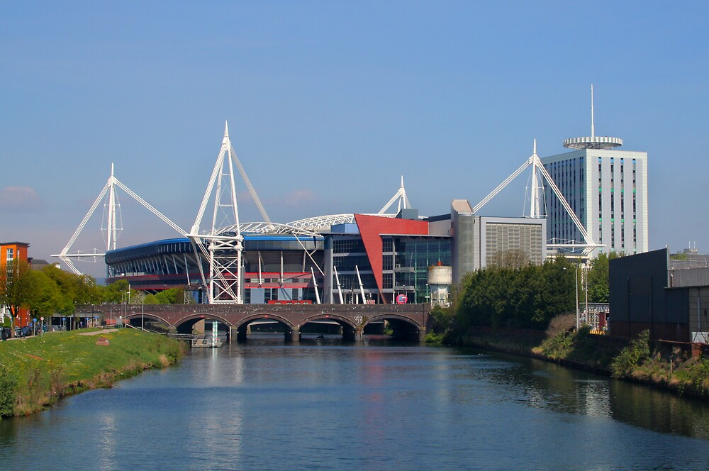 Millennium Stadium Cardiff by Anthony Thomas