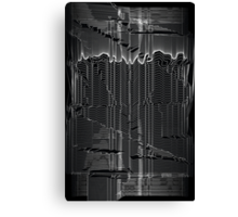 Refracture of the False Mend // Whiteline Canvas Print