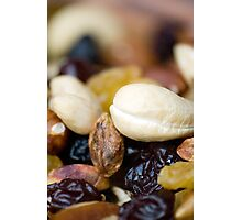 Macro Snacks Photographic Print