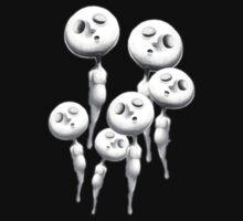 Bubble Heads 6 by Zach Wong