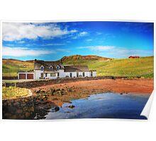 Da Bod, Brae, Shetland Islands, Scotland Poster