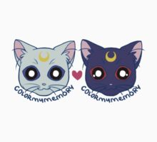 Sailor Cats (1A) by ColorMyMemory
