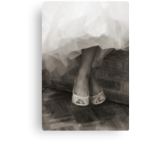 Wedding Shoes  Canvas Print
