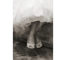 Wedding Shoes  Photographic Print