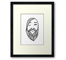 Beards 11 Framed Print