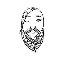 Beards 11 Photographic Print