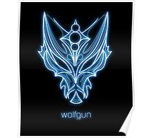 Wolfgun - Neon Poster