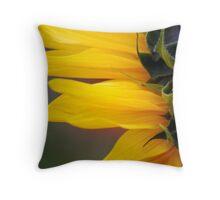 Sunflower Grasshopper Throw Pillow