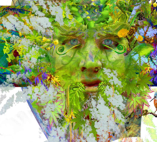 Jack-o-the-Green Sticker