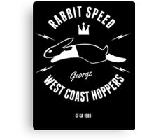 Rabbit Speed George One Canvas Print