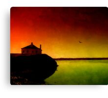 Let The Quiet In. Canvas Print