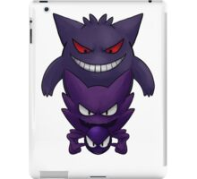 Gastly evolution line iPad Case/Skin