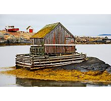 The Lobsterman's Cabin Photographic Print