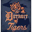 detroit tigers by Sydney Eller