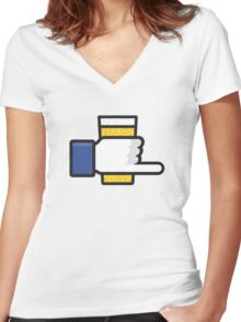 Beer Snob Women's Fitted V-Neck T-Shirt
