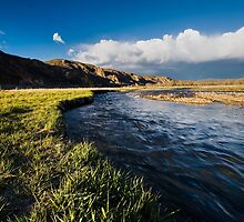 Inlet to Jordanelle Reservoir in Utah #2 by Alan Mitchell