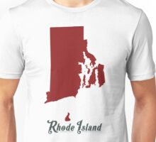 Rhode Island - States of the Union Unisex T-Shirt
