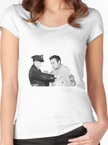 Lenny Bruce Arrest Women's Fitted Scoop T-Shirt