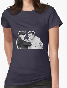 Lenny Bruce Arrest Womens Fitted T-Shirt