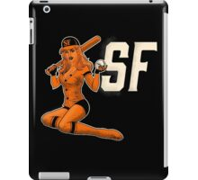 SF Giants Pin-Up Girl 1 iPad Case/Skin