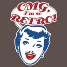 OMG, Retro t-shirt by valizi