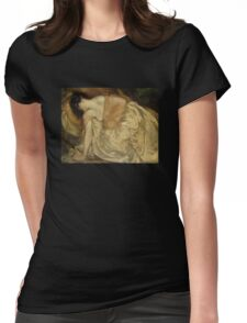 'The Princess and the Frog' by Bluemenschein (Reproduction) Womens Fitted T-Shirt