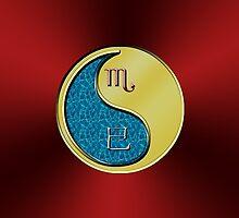 Scorpio & Snake Yin Metal by astrodesigner75