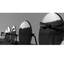 Satellite Dishes Photographic Print