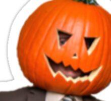 Pumpkin Dwight Sticker