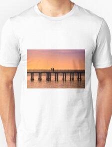 Dromana Pier - couple Unisex T-Shirt