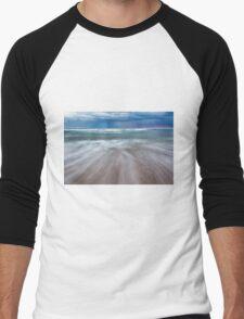 Portsea Sunset - Mornigton Peninsula Men's Baseball ¾ T-Shirt