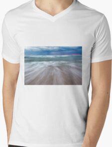Portsea Sunset - Mornigton Peninsula Mens V-Neck T-Shirt
