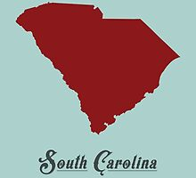South Carolina - States of the Union by Michael Bowman