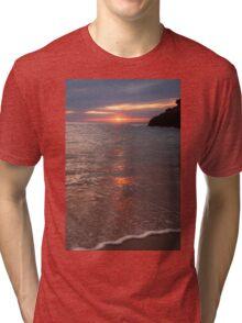 Sunset Sorrento Tri-blend T-Shirt