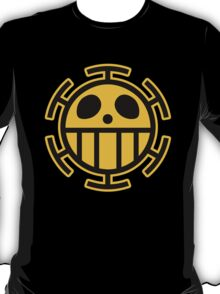 Trafalgar Law Heart Pirates Logo T-Shirt
