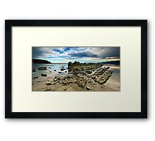 Dusk draws near and all is calm Framed Print