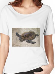 Playful Honu Women's Relaxed Fit T-Shirt