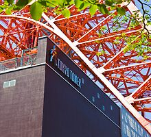 Tokyo Tower from Below by loquela