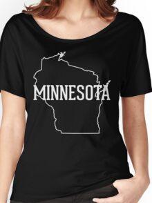 Wisconsin Minnesota Women's Relaxed Fit T-Shirt