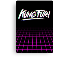 Kung Fury RGB Retro Style Canvas Print