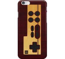 Nes Controller Wood Texture iPhone Case/Skin