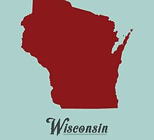 Wisconsin - States of the Union by Michael Bowman