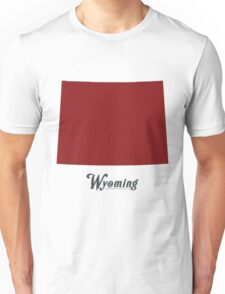 Wyoming - States of the Union Unisex T-Shirt