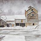 Chisholm Lumber Mill by Jeno Futo