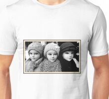Three Heads Unisex T-Shirt