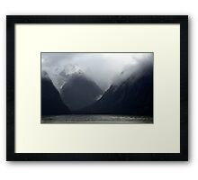 In the Hall of the Mountain King- Doom Framed Print